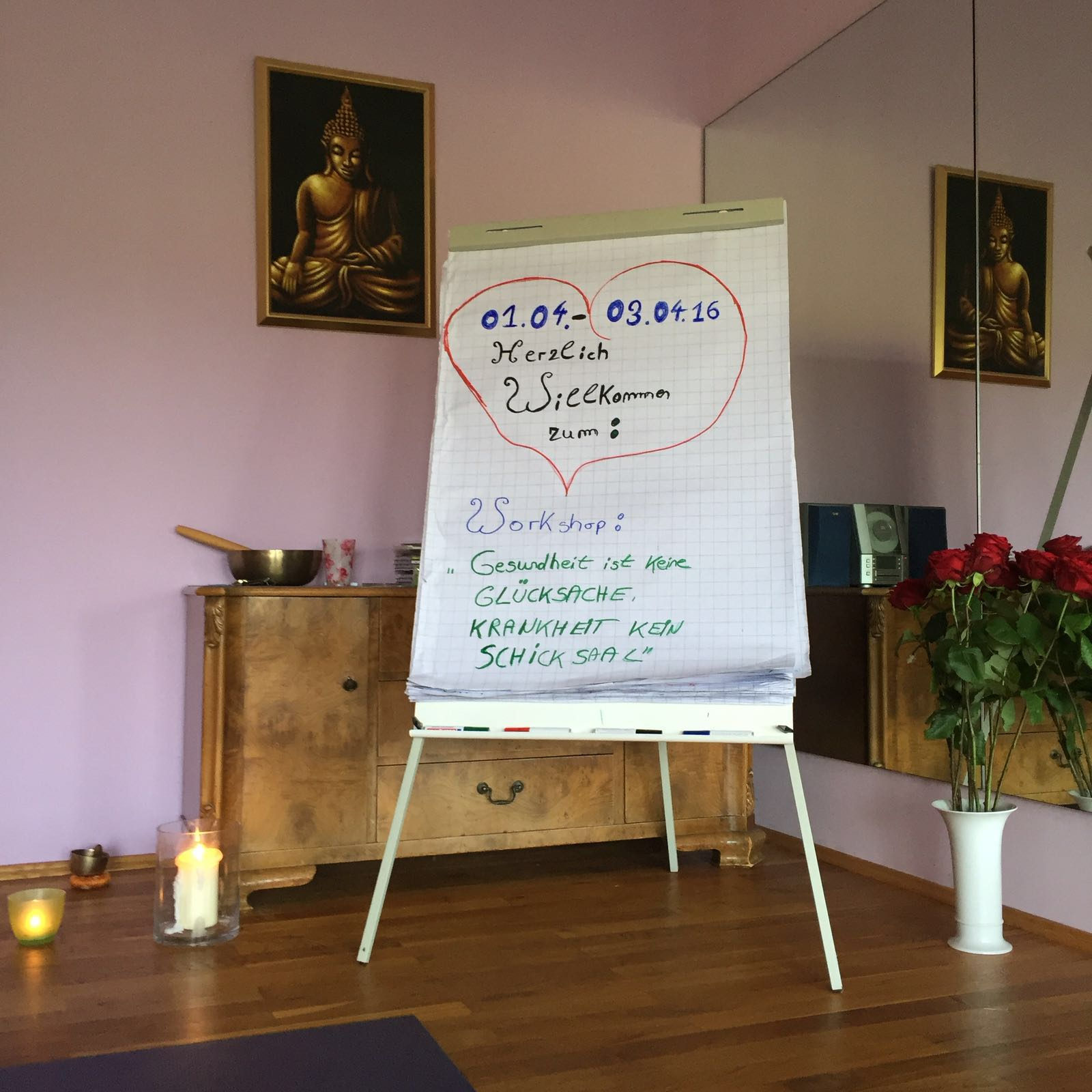 Flipchart - Workshop bei Moni